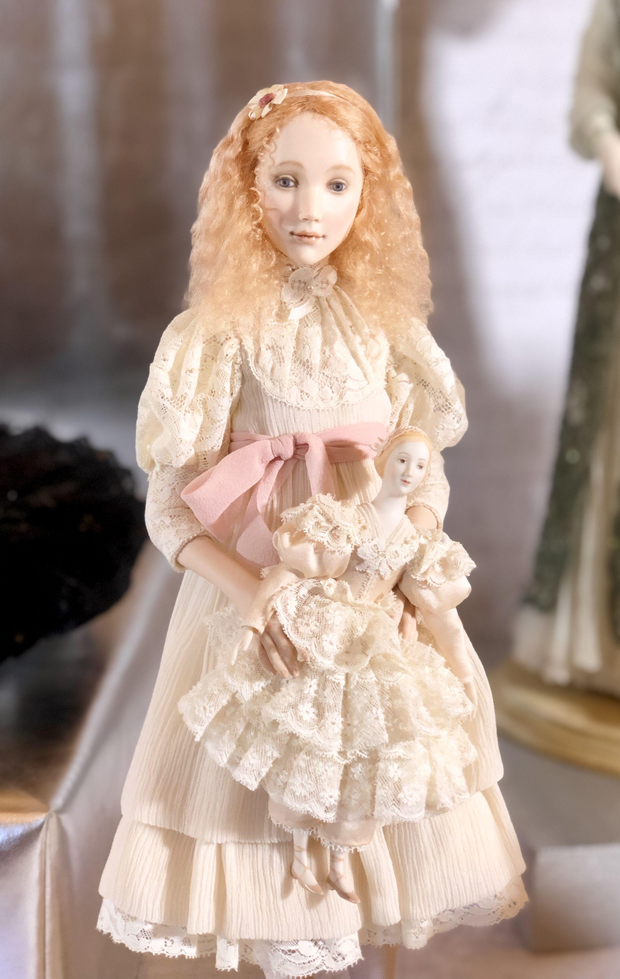 A koukinova artist porcelain doll russian art dolls