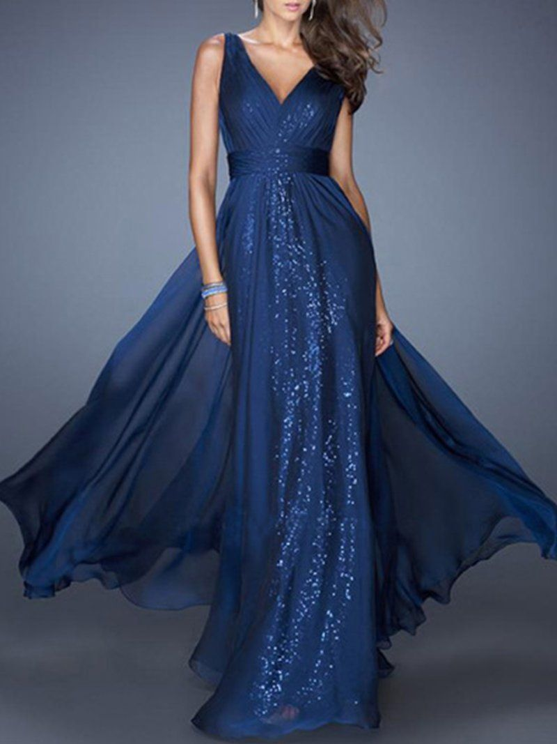 Noracora Women Evening Sleeveless Mesh Evening Gowns Dresses Noracora Maxi Dress Evening Backless Evening Dress Chiffon Maxi Dress [ 1067 x 800 Pixel ]