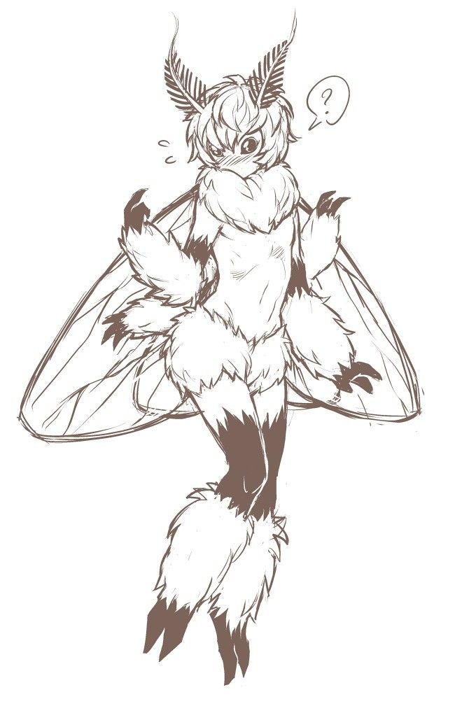 Moth Love Mother Of God It Squeaks Neko And Waifus In