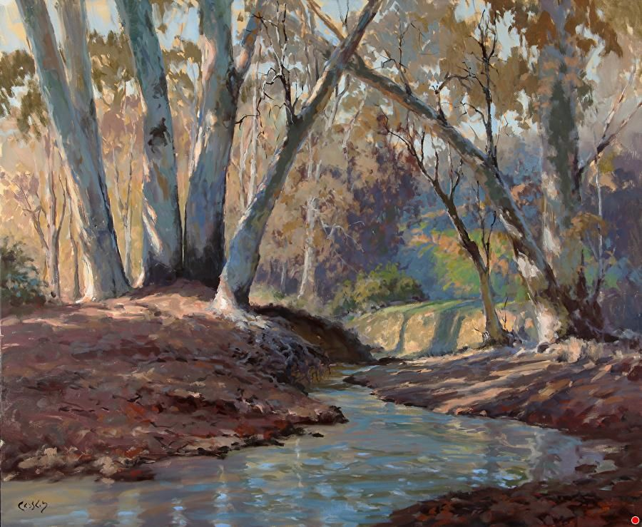 Plein Air Painter John Cosby on the Savvy Painter Podcast