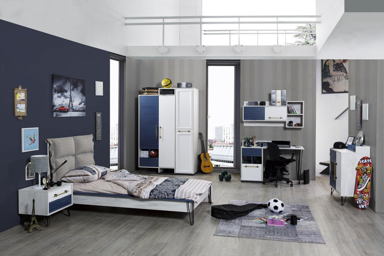 Jugendzimmer Lofty 6 Teilig In Modernem Design Cooles Kinder Und