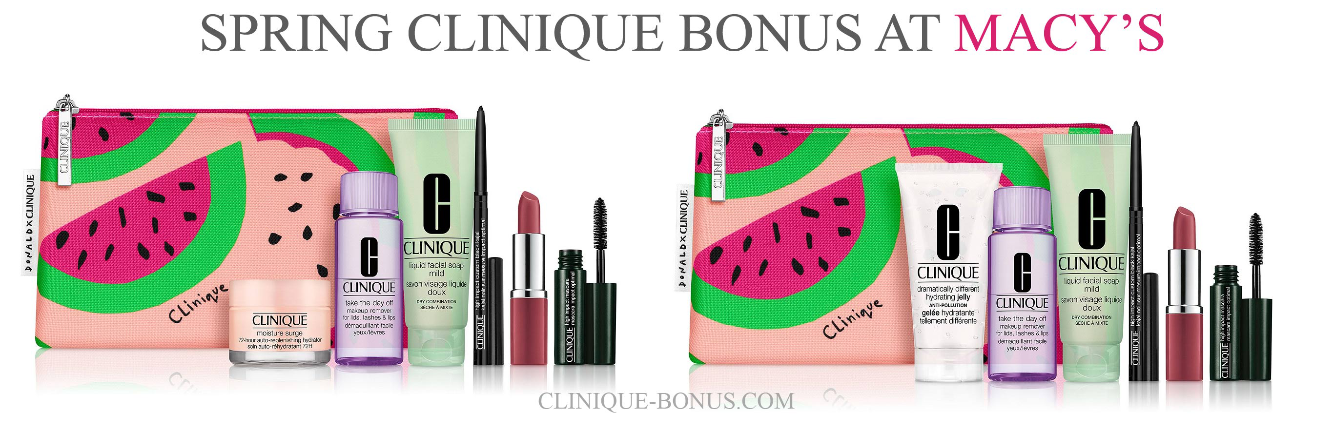 Pin on Clinique Bonus Time
