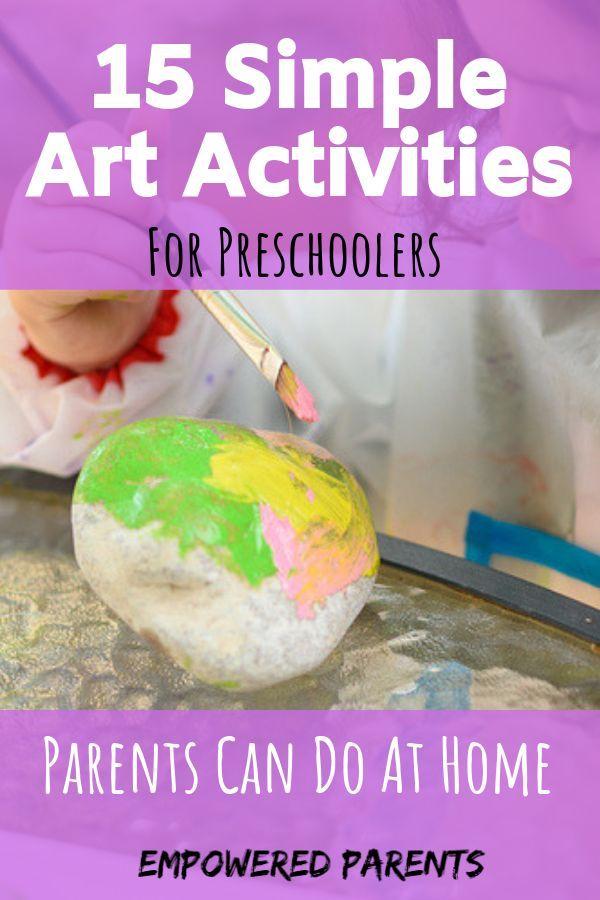 15 Simple Art Activities For Preschoolers That Parents Can ...