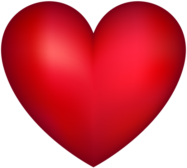 Red Heart Transparent PNG Image Heart clip art