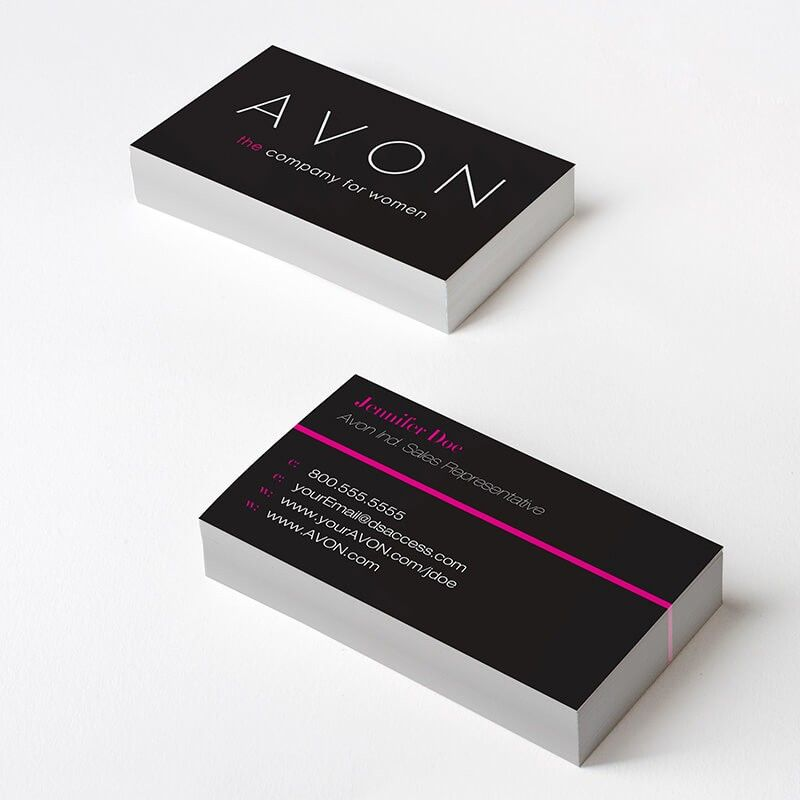 Avon Stripe Business Cards Stay Modern With Avon Striped Business Card Herbalife Business Cards Business Cards
