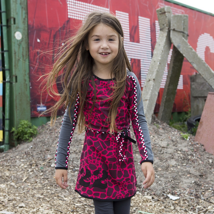 de31dbe01c191f Lovestation 22 jurk Nika - Kinderkleding online