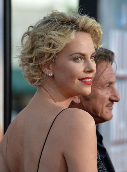 Short Hairstyles Lookbook Charlize Theron Wearing Curls 46 Of 67 Styled Her Hair With Windn For The Premiere A
