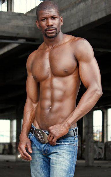 Tall muscular black men