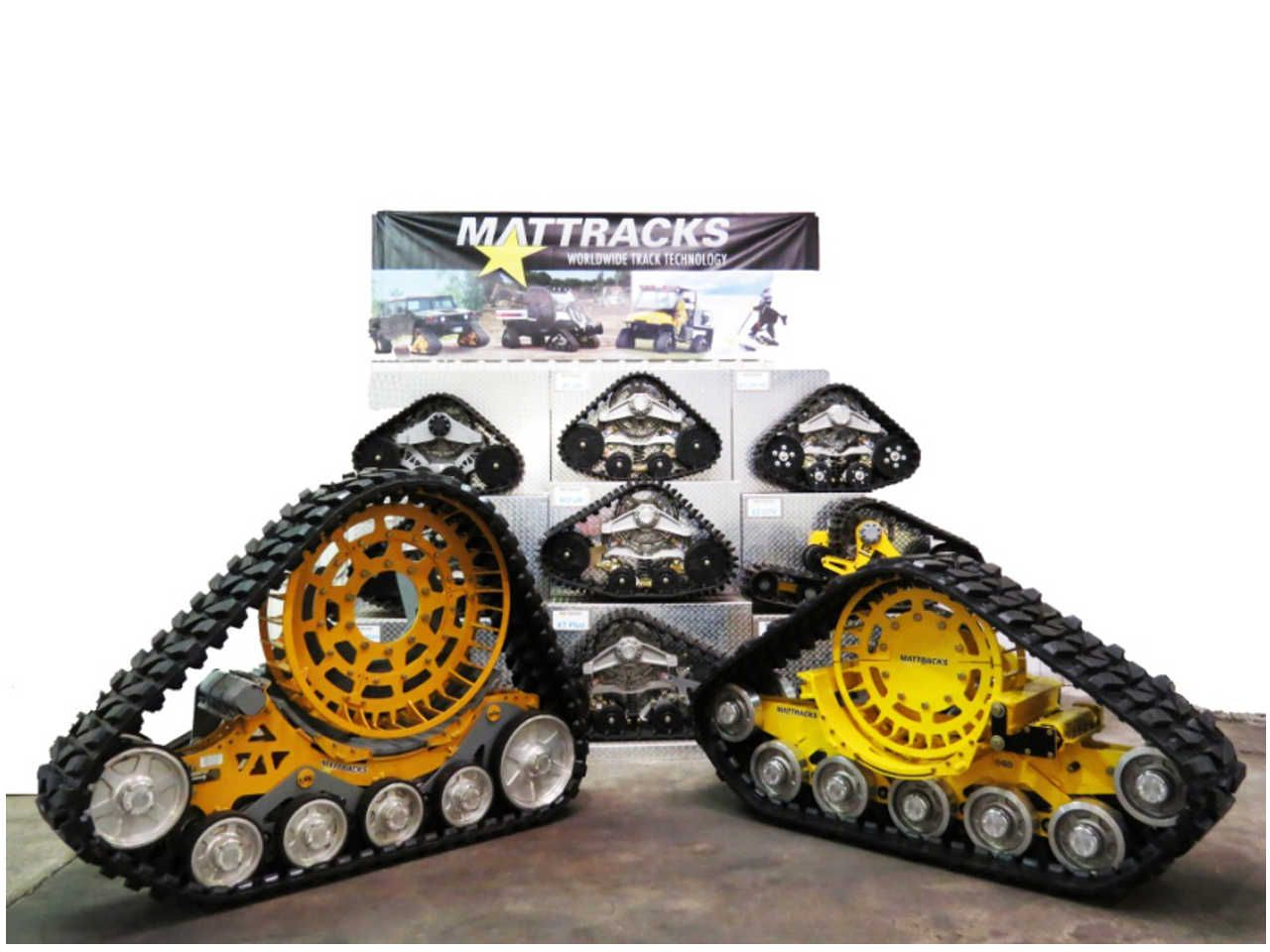 Mattracks the leader in rubber track conversion systems just released its new series of ag