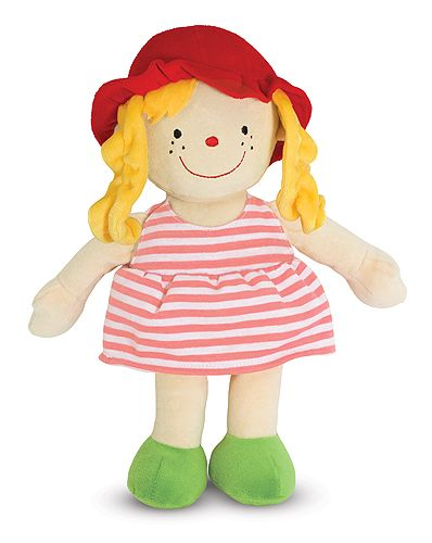 My Friend Julia Soft Doll Baby Toys Melissa And Doug