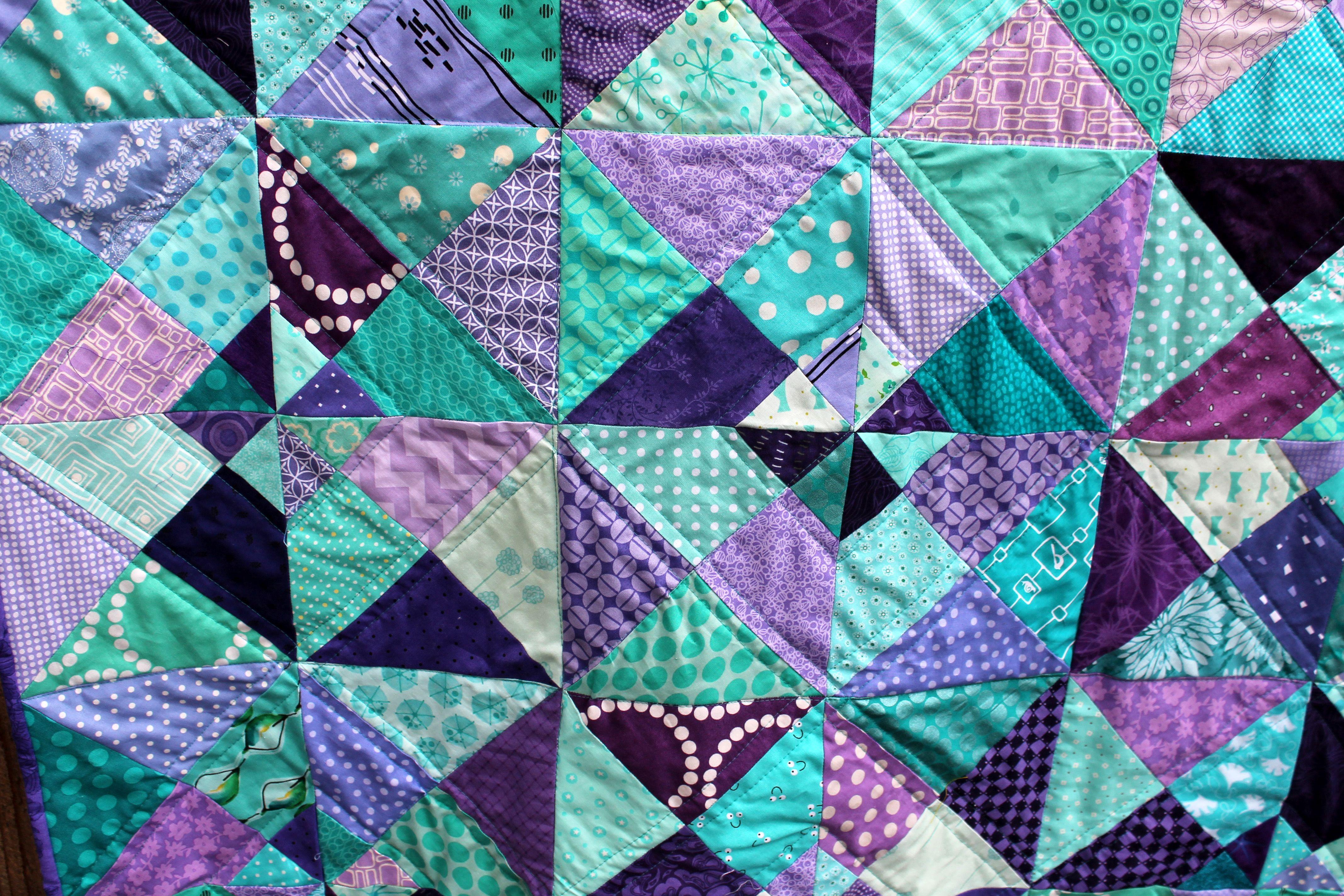 aqua purple bold quilt   quilt color ideas   Pinterest   Aqua ... : quilt color ideas - Adamdwight.com