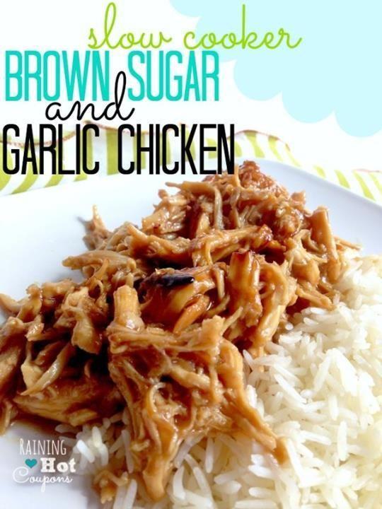 Crock pot brown sugar and garlic chicken recipe garlic chicken crock pot brown sugar and garlic chicken recipe forumfinder Images
