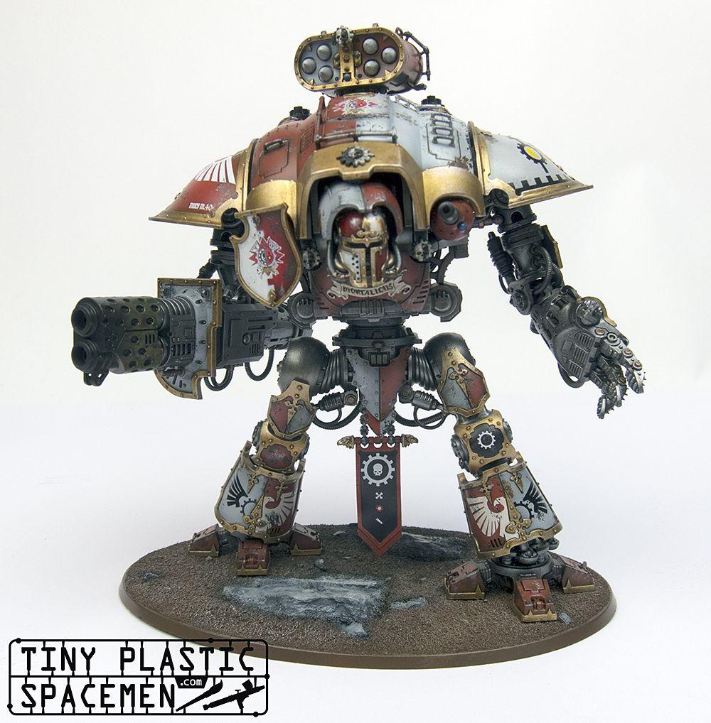 Custom Painted Games Workshop Warhammer 40 Imperial Knight