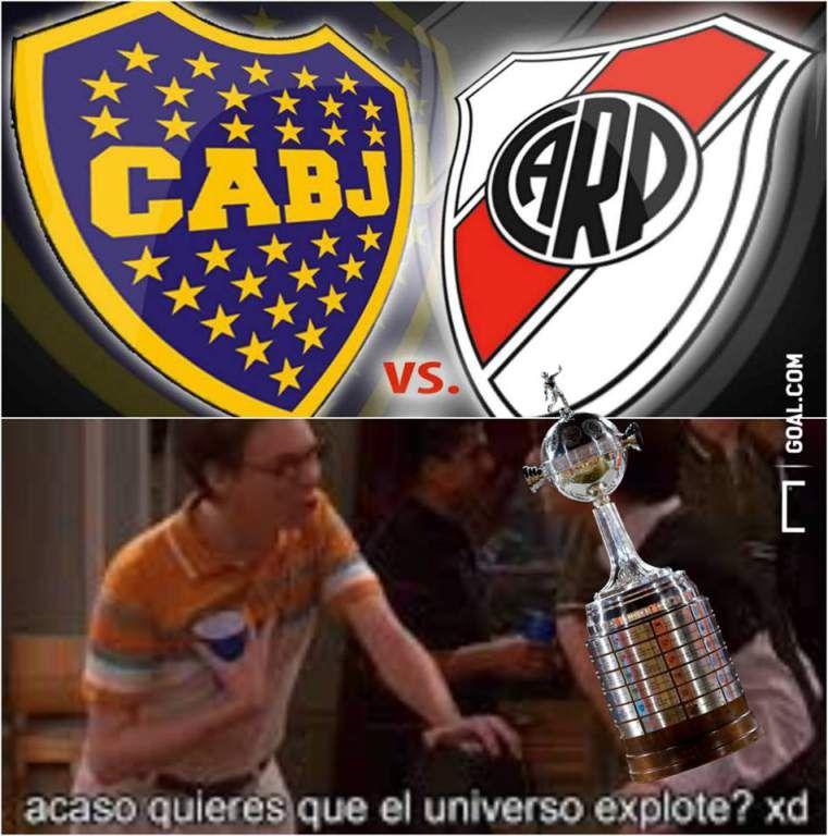 Foto 8 Los Mejores Memes De La Final Boca Juniors River Plate En La Copa Libertadores Diario La Prensa Memes Para Boca Boca Juniors Memes