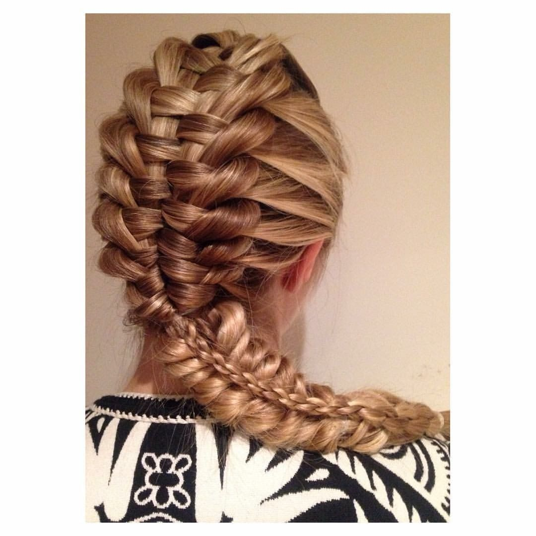 Who Likes A Braidbo? Here's A ™� Zipper Braiding Into Stacked Pull  Through