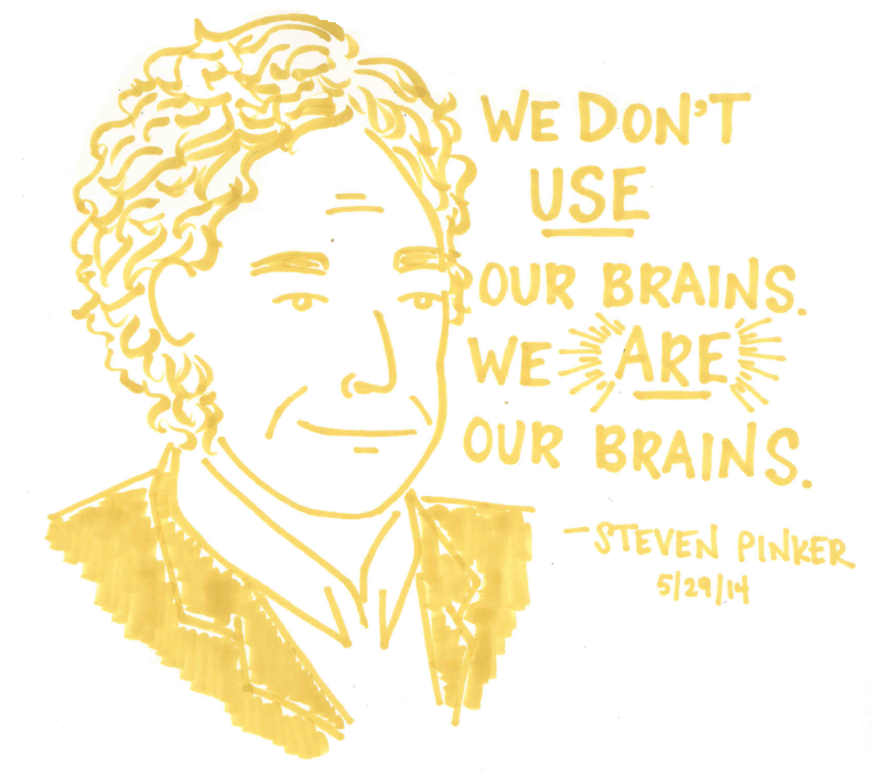 Steven Pinker at the World Science Festival, 5/29/14   Atheist agnostic, Science  festival, Words quotes