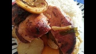 Rustic Roast Chicken Recipe - CookingRecipes.us