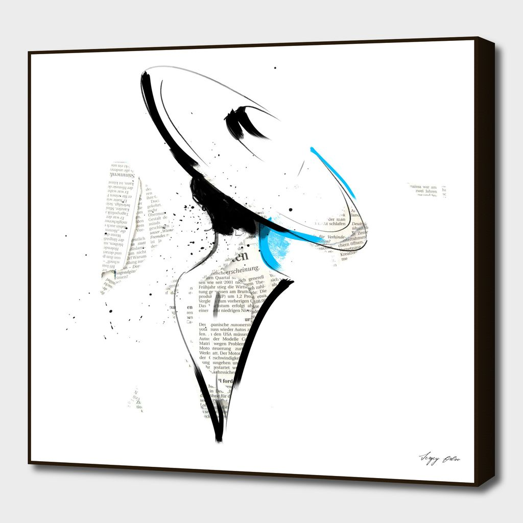 Almost Blue Art Print By Sergey Exclusive Edition From 24 9