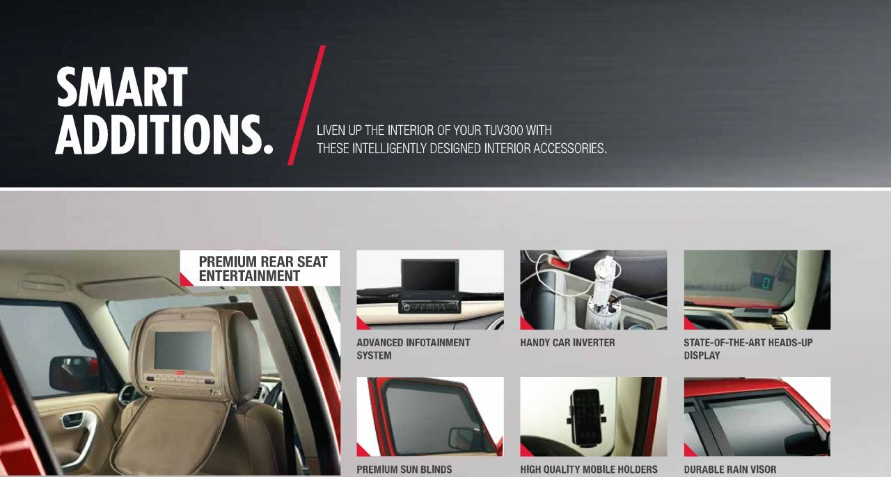 Mahindra Tuv300 Accessories Best Image Google Search Mahindra