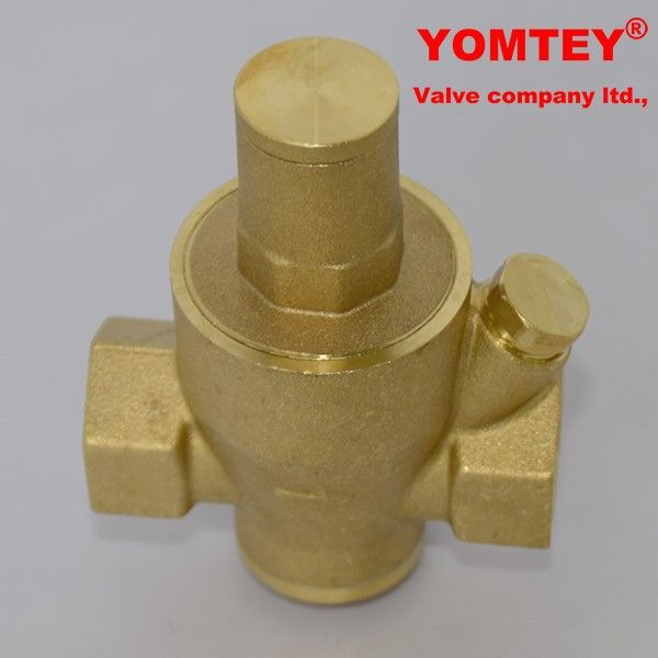 1 2 Inch Adjustable Brass Water Pressure Reducing Valve Valve Pressure Guangdong