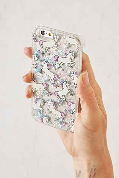 Skinnydip Pony Glitter iPhone 6/6s Case $24