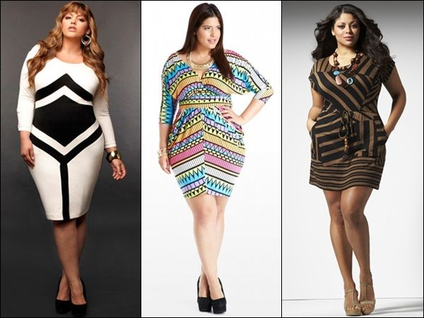 Bodycon Dresses For Plus Size Women Play With Colors And Prints