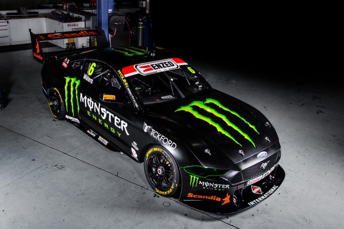 2019 Monster Energy Tickford Mustang Virgin Australia Supercars Champioship Monster Energy Super Cars V8 Supercars Australia
