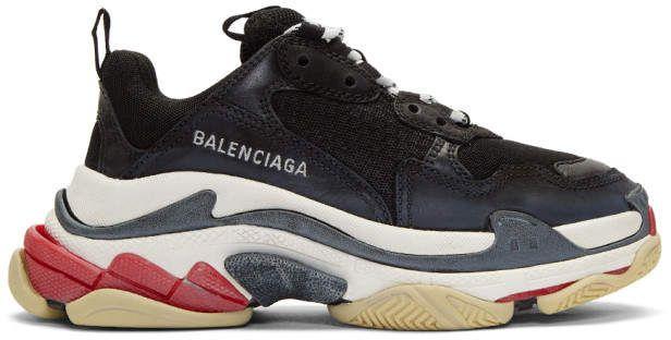 Leather sneakers, Sneakers, Balenciaga