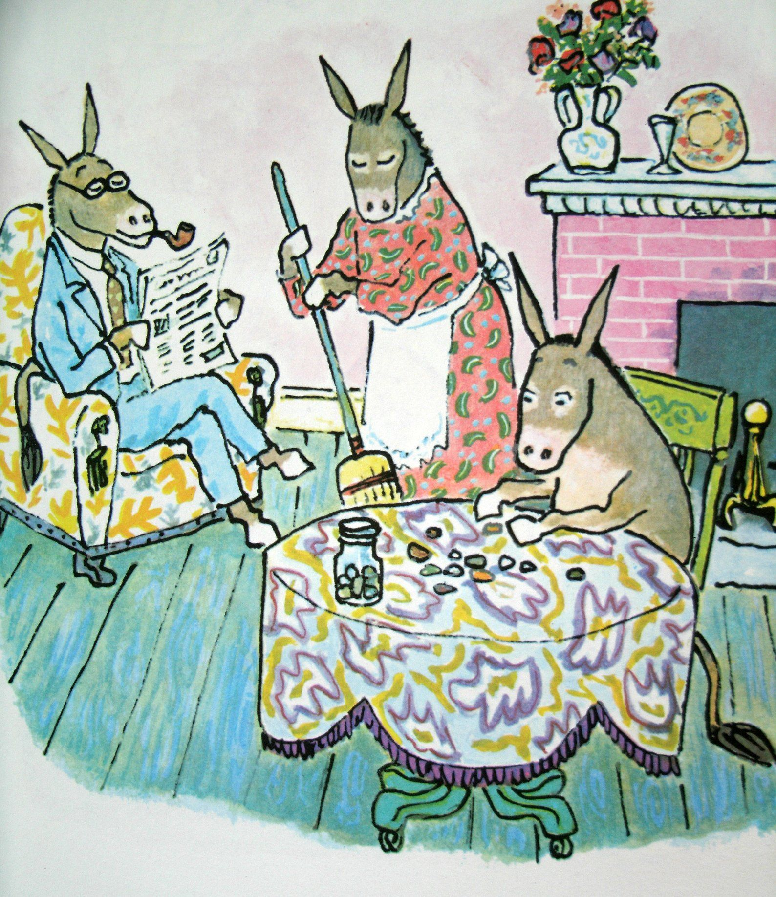 Sylvester And The Magic Pebble William Steig Scholastic