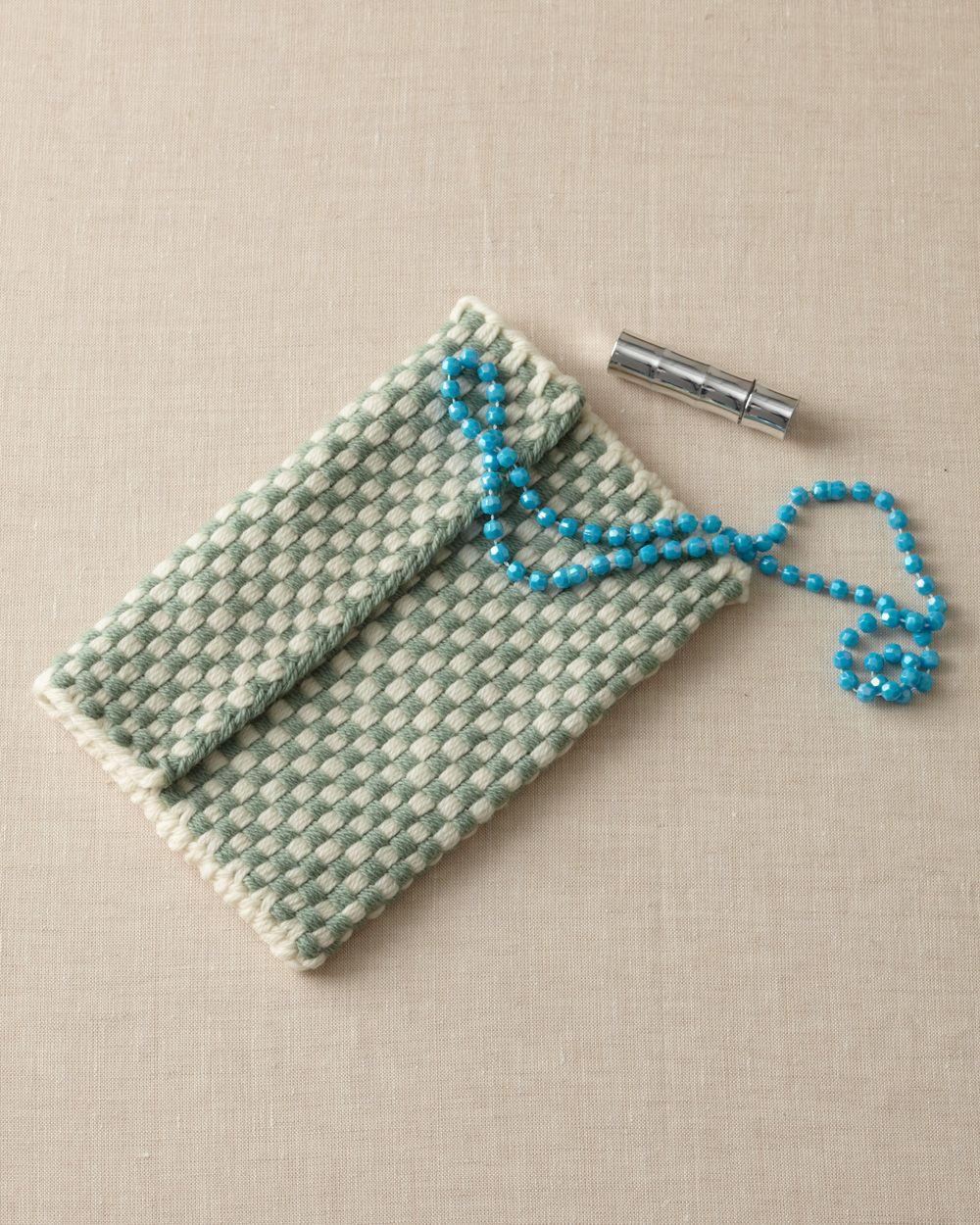 Martha Stewart Knitting Loom Patterns Free Loom Woven Pattern