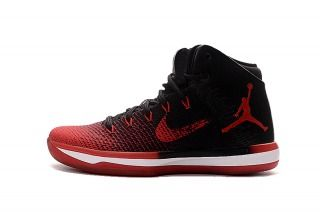low priced f9567 0f4e6 Nike Air Jordan XXXI 31 BANNED Black University Red White Mens Basketball  Shoes 845037 001