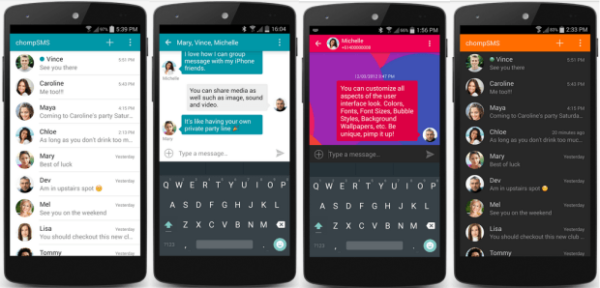 Top Ten Messaging Apps for Android Text messaging apps