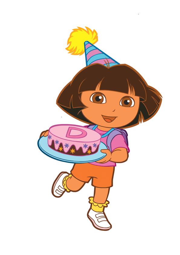 Dora De Cumpleanos Para Imprimir Imagenes Y Dibujos Para Imprimir Dora And Friends Dora Drawing Birthday Painting