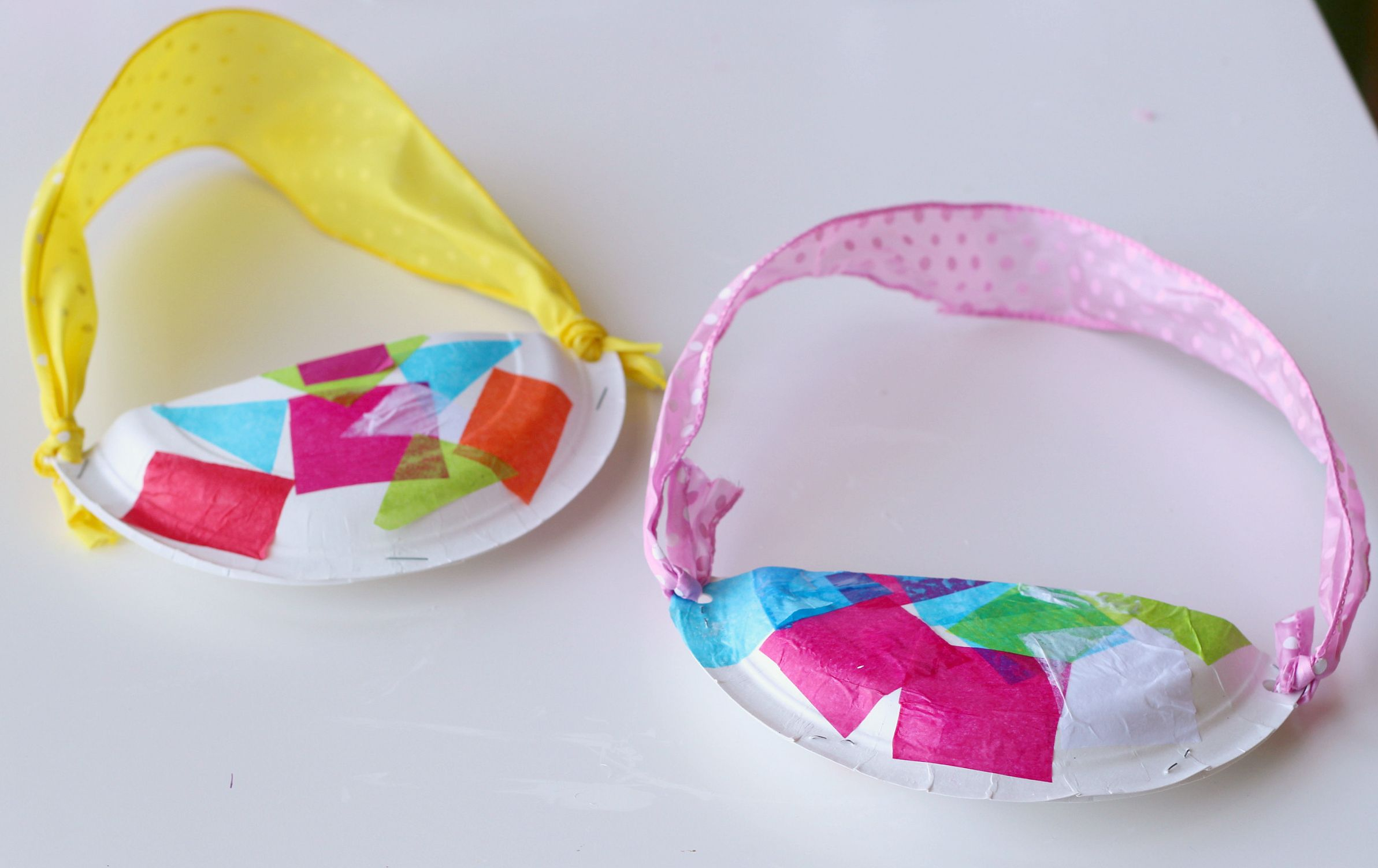 Paper plate easter baskets basket crafts easter baskets and easter easter basket craft for kids negle Gallery