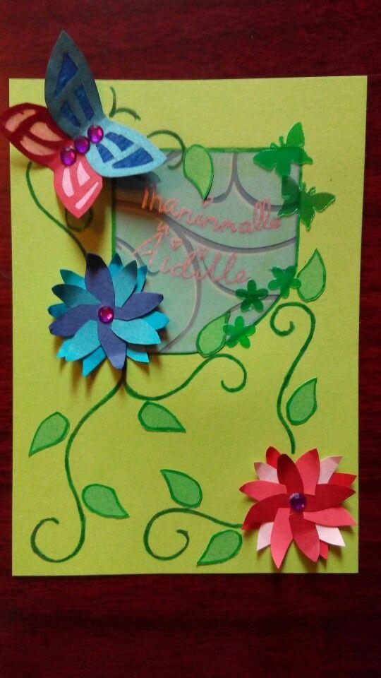 Äitienpäivä tulloo~  ja aika on hyvä käyttää kortteihin ;) Osoittakaa kaikki, että rakastatte läheisiänne!