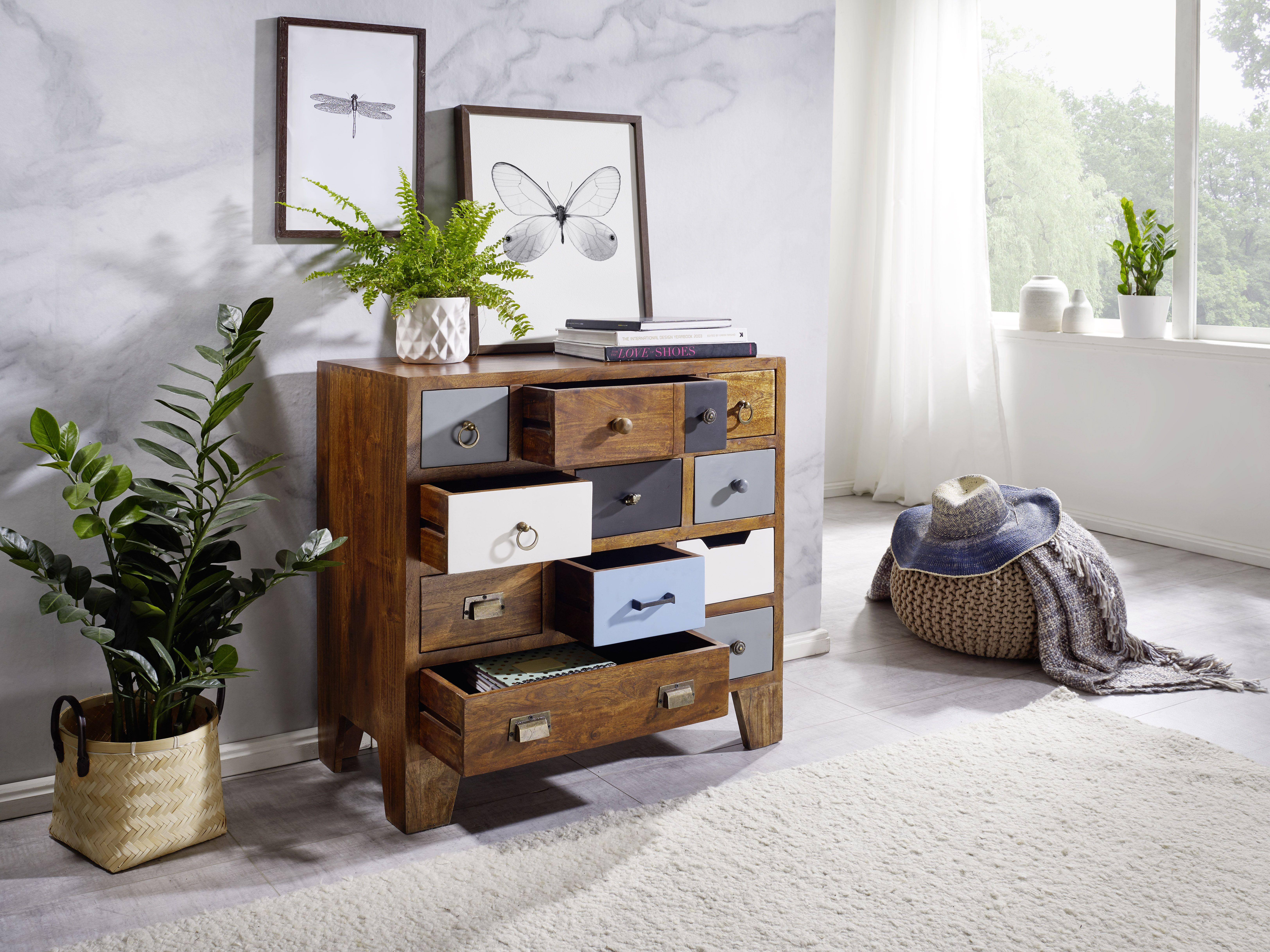 Esszimmer design bd wohnling sideboard x cm keona wl aus sheesham massivholz