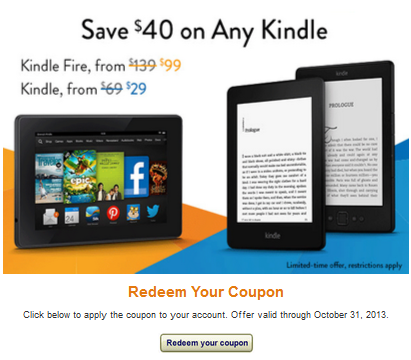 Kindle Deal Reminder Get A Kindle For Only 9 With Random Amazon Coupon Kindle Deals Kindle Coupons