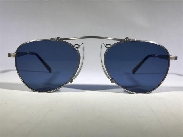 fb4387e8fb9 NEW Matsuda M3036 Sunglasses - Antique Silver   Blue - 51-19-145 ...