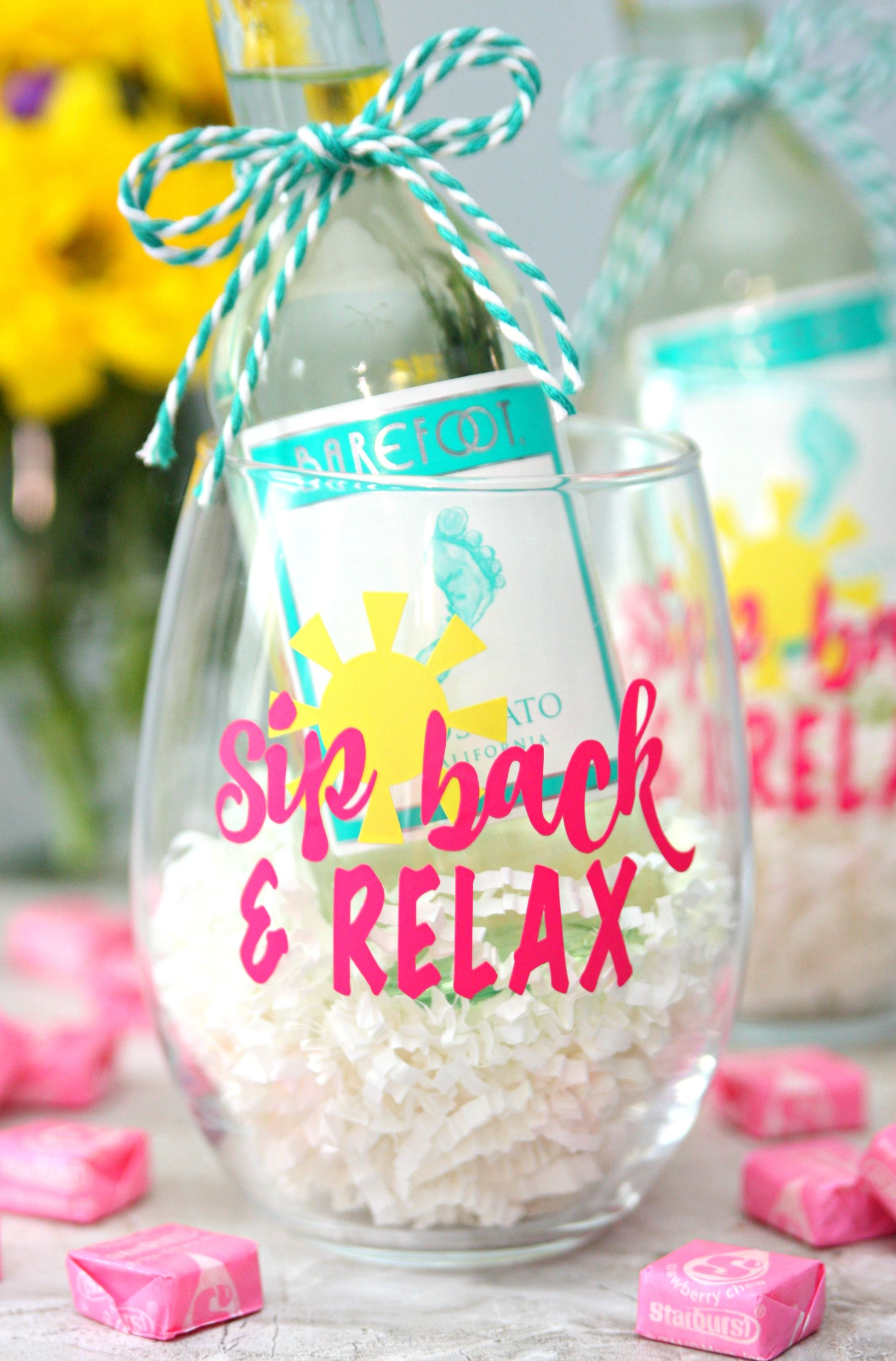 Sip Back And Relax Wine Glasses The Perfect Summer Gift