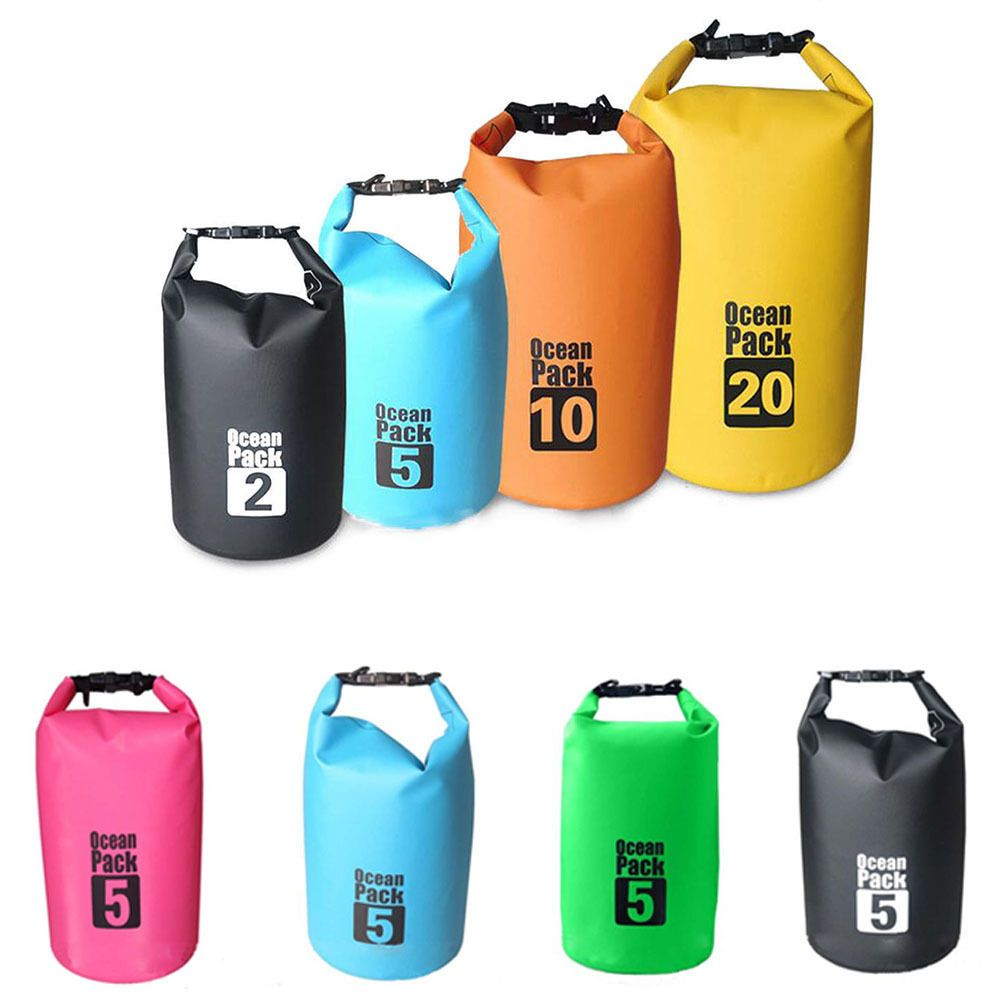 cbdca1ce8c8e 2-30L Sports Waterproof Dry Bag Backpack Pouch Floating Boating Kayaking  Camping
