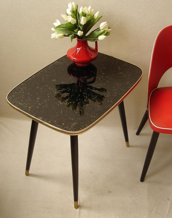 50s 60s Cocktail Table Coffee Table End Table By Findingscreations