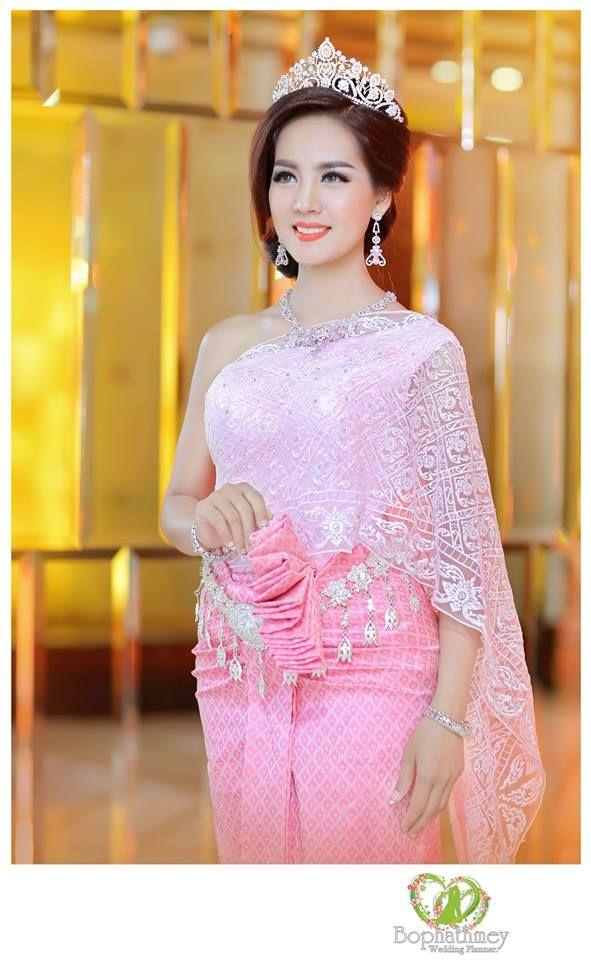 khmer wedding costume | วัฒนธรรม..../การแต่งกาย,living,wonderful ...