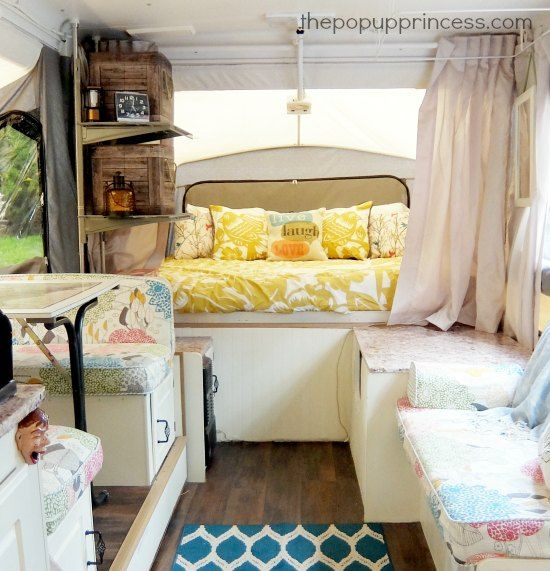 Carolyn S Pop Up Camper Makeover The Princess
