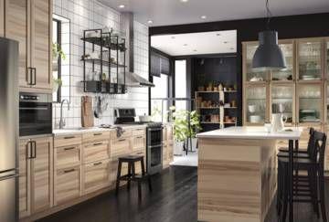 cocinas bonitas cocina ikea casas rsticas comedores espacios tienda madera comprar muebles