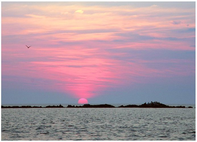 Pink Sunset, Nantucket Island  © Tim W Vaughan