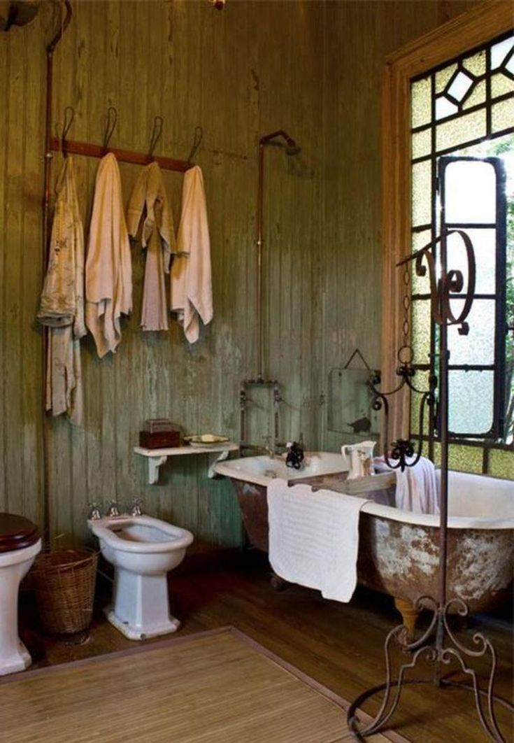 Creative Rustic Bathroom Decoration & 40 Best Design Ideas
