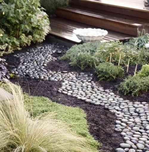 Deco Jardin Avec Galets - Rellik.us - rellik.us