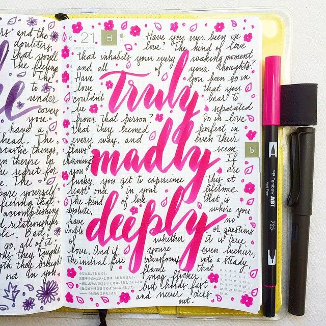 ...truly madly deeply