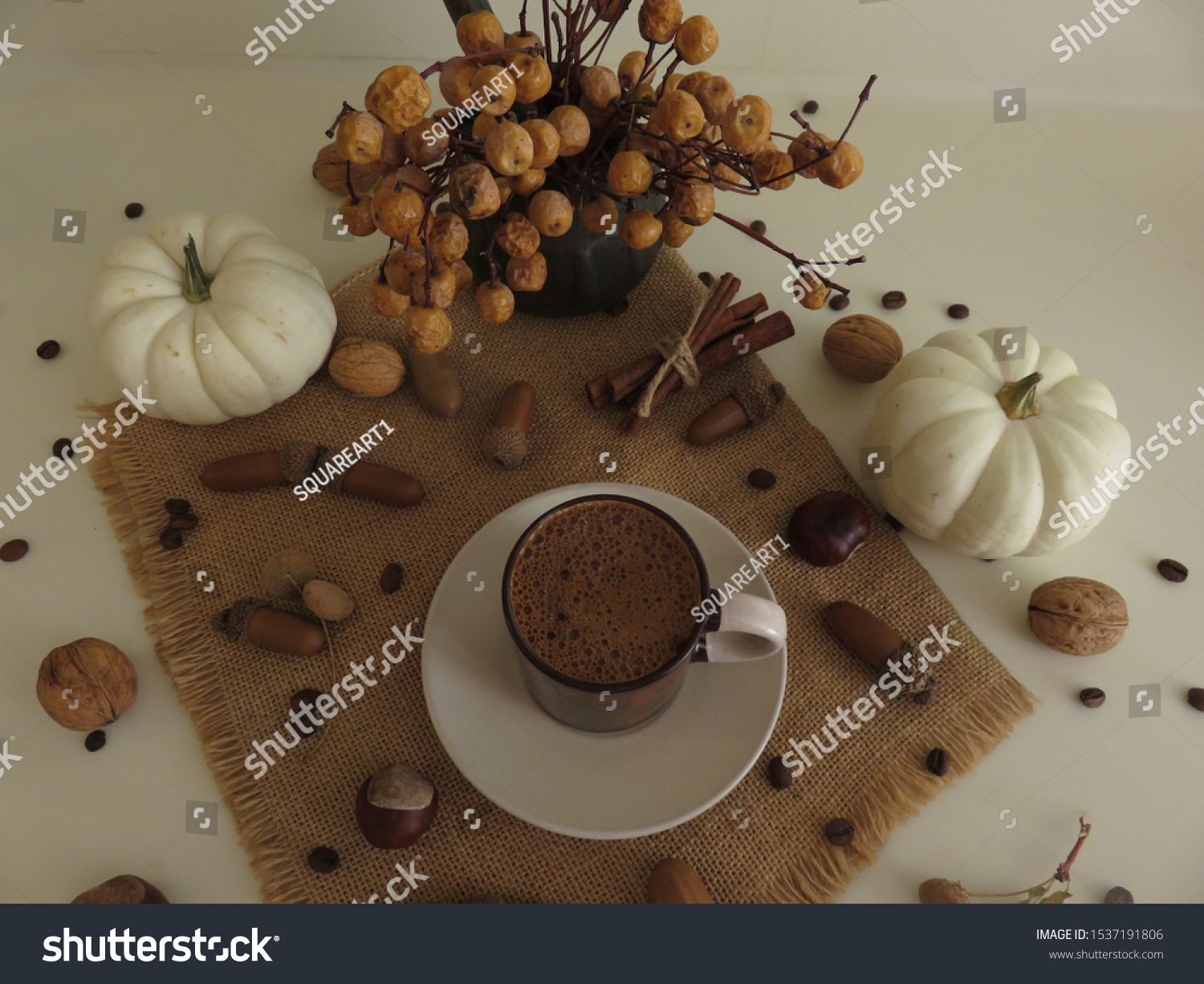 Photo of Coffee Presentation Small Objects Stock Photo (Edit Now) 1537191806