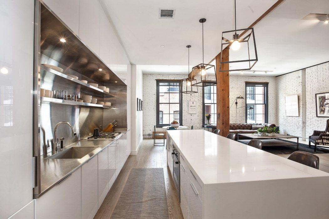 True DUMBO Loft Living 192 Water Street Apt 2E Brooklyn, NY